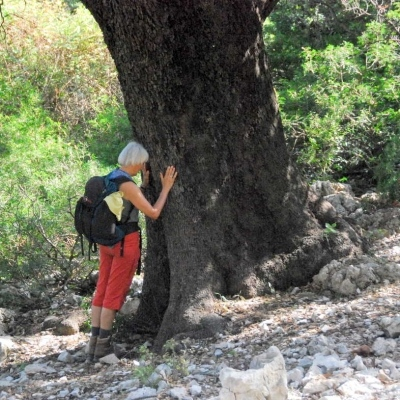 Wir beide in Symbiose: Meditatives Wandern in Sardinien