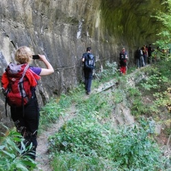 Aktivurlaub in den Abruzzen: Schluchtwanderung bei Caramanica Terme