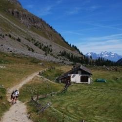 leichte, einfache und moderate Wanderungen in Aosta