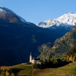 Italienwandern: Alpenwanderungen in Norditalien. Aosta - die Seitentäler