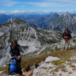 Gipfelbesteigungen in den Dolomiten von Friaul