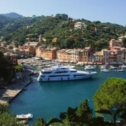 Wandern in Ligurien: Ankommen am Hafen von Portofino