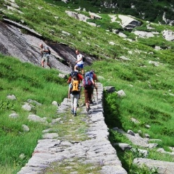 Weitwandern in Italien: Historische Wege der Walser in Piemont